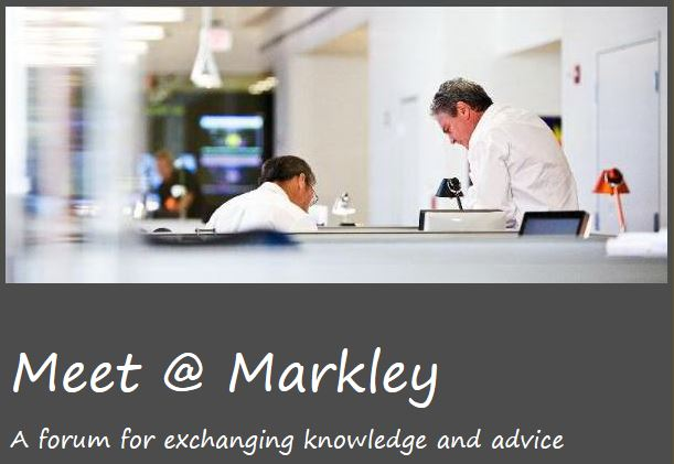 Meet @ Markley